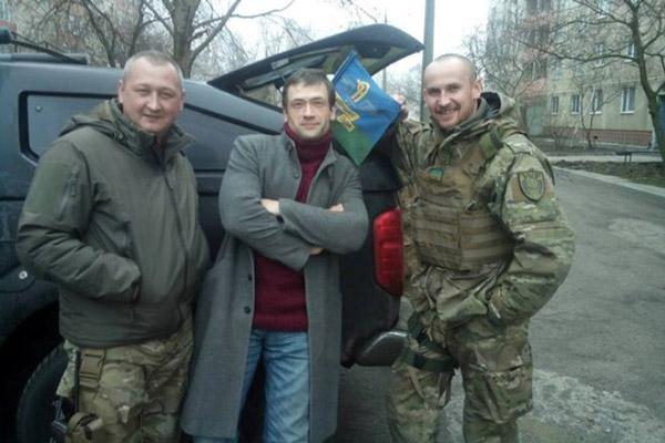 """Анатолий Пашинин в составе батальона """"Азов"""""""