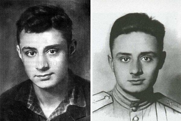 Эдуард Асадов в молодости