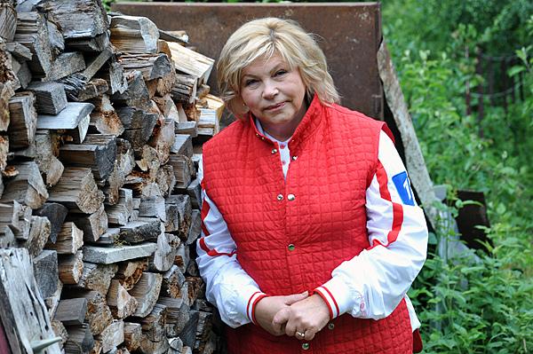 Актриса и известный политик Елена Драпеко