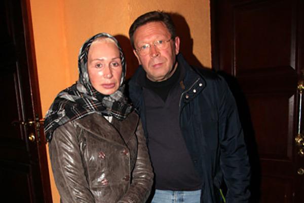 Георгий Мартиросян со второй женой Татьяной Васильевой