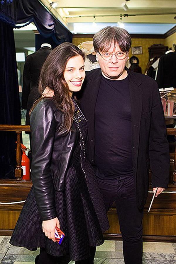 Валерий Тодоровский с дочерью Екатериной