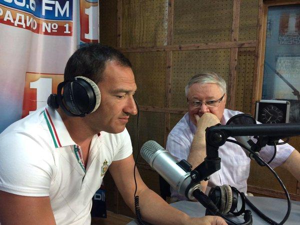 Роман Бабаян на радио