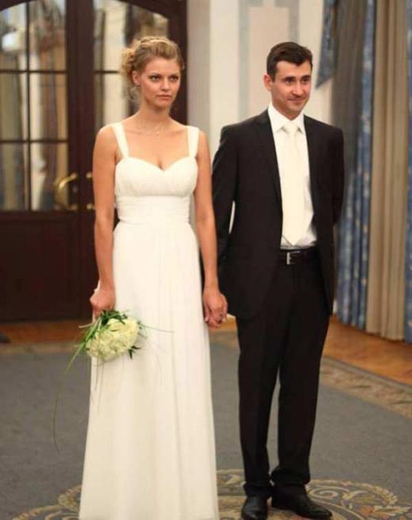 Евгений Миллер с женой Юлией Ковалевой