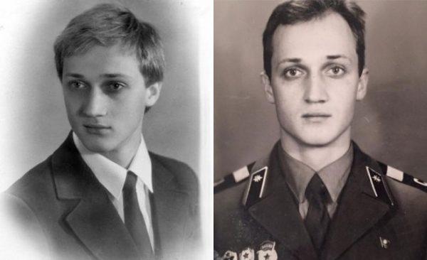 Гоша Куценко в молодости