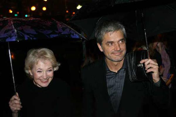 Константин Лавроненко с женой Лидией Петраковой