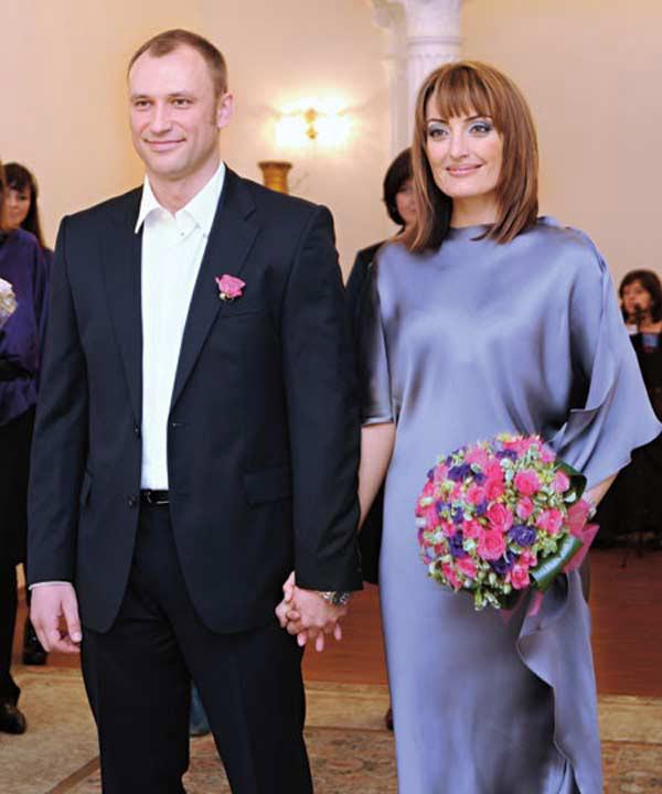 Константин Соловьев со второй женой Евгенией Ахременко