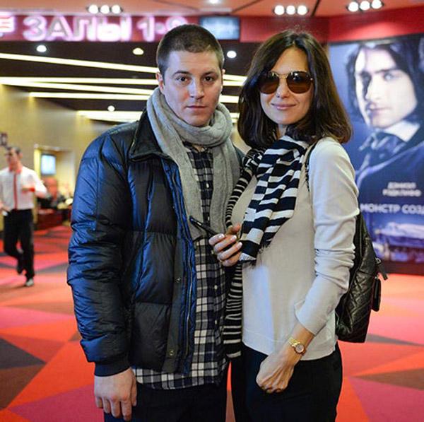 Гела Месхи с женой