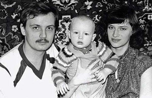 Наталья Гулькина с первым мужем