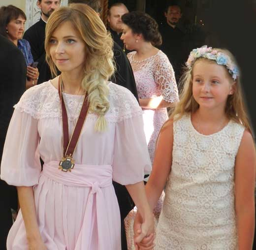 Полонская Наталья с дочерью