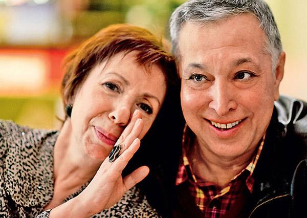 Галина Петрова с мужем Олегом Осиповым