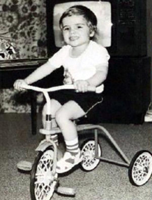 Илья Глинников в детстве