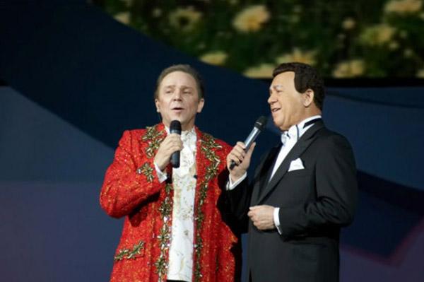 Владимир Девятов и Иосиф Кобзон