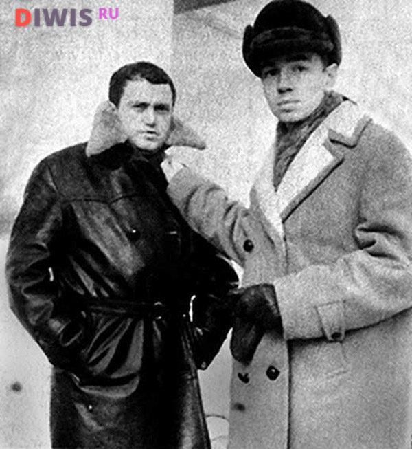 Василий Аксенов и Андрей Вознесенский
