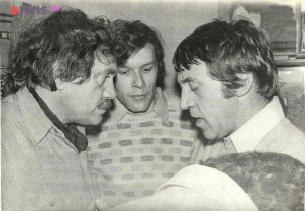 Аксенов, Ерофеев, Высоцкий
