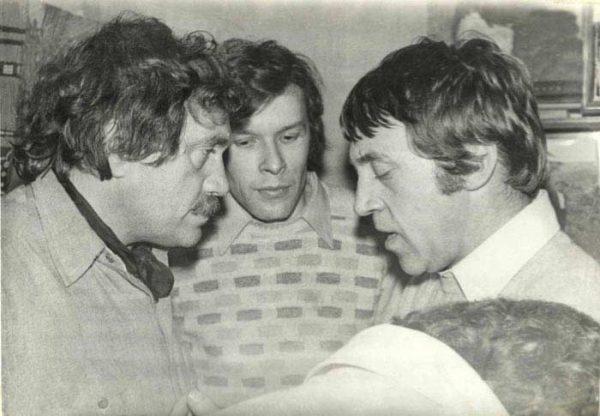 Василий Аксенов и Владимир Высоцкий