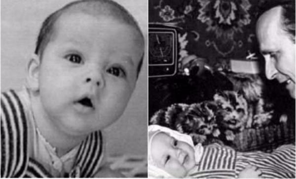 Александр Домогаров в детстве