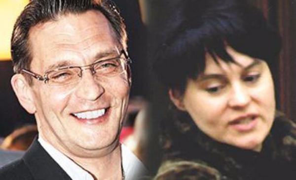 Александр Домогаров и Ирина Гуненкова