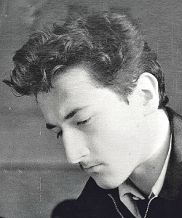 Борис Клюев в молодости