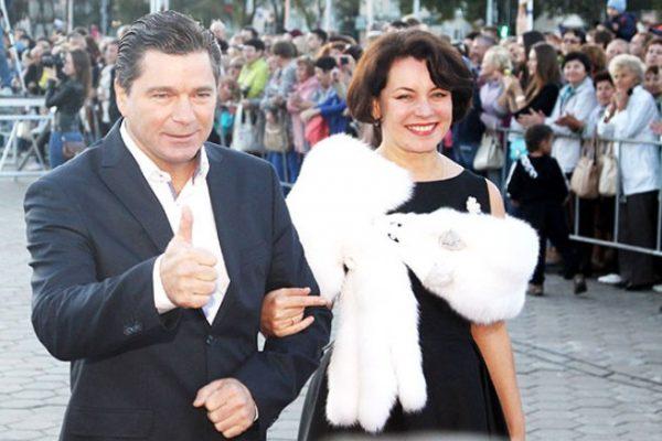 Сергей Маховиков с женой актрисой Светланой Шахворостовой