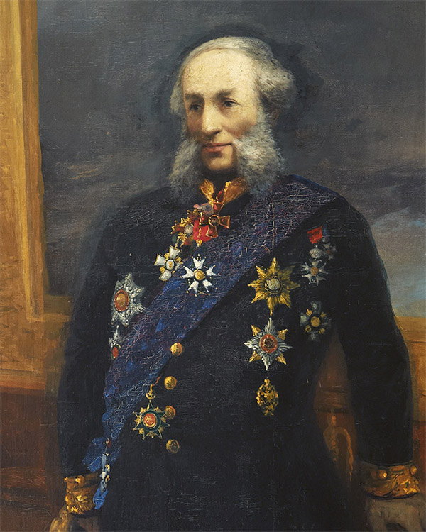 Айвазовский автопортрет в мундире