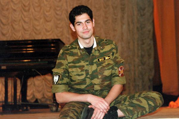 Алексей Нестеренко в молодости