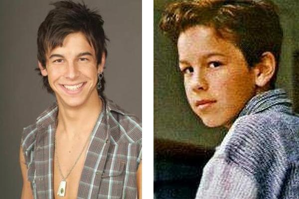 Марио Касас в детстве и в юности