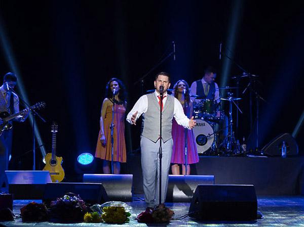 Интарс Бусулис на концерте
