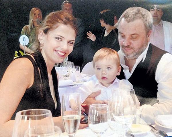 Юлия Галкина с мужем Ильей Макаровым и сыном