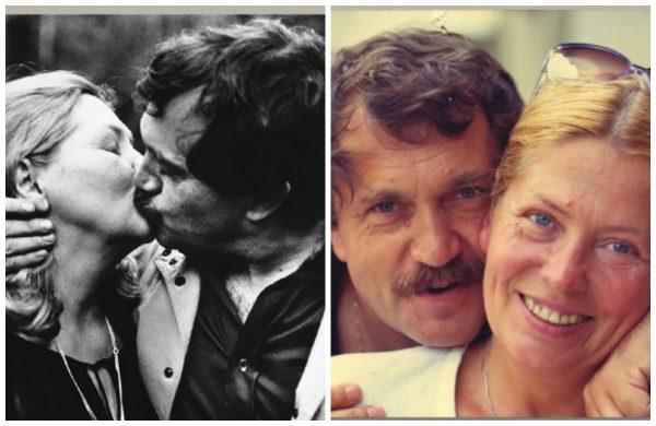 Василий Аксенов со второй женой Майей