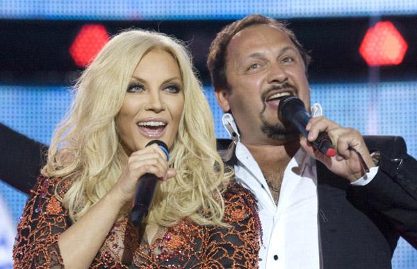 Стас Михайлов и Таисия Повалий