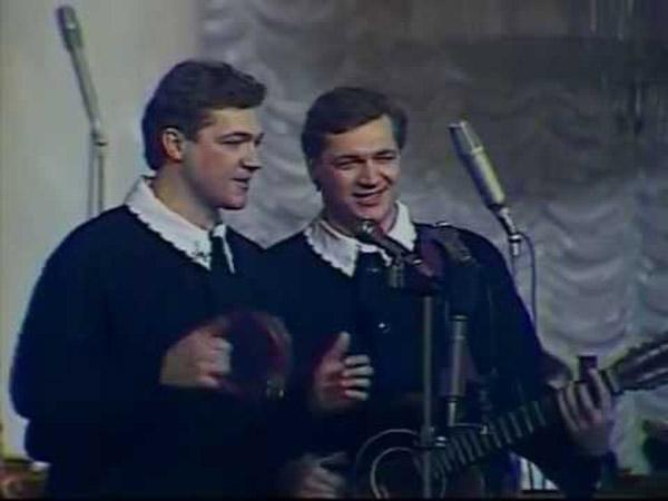 Братья Радченко в молодости