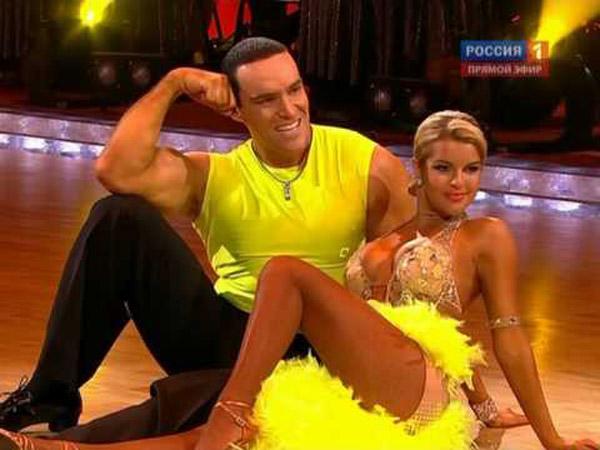 """Оксана Сидоренко и Александр Невский в программе """"Танцы со звездами"""""""