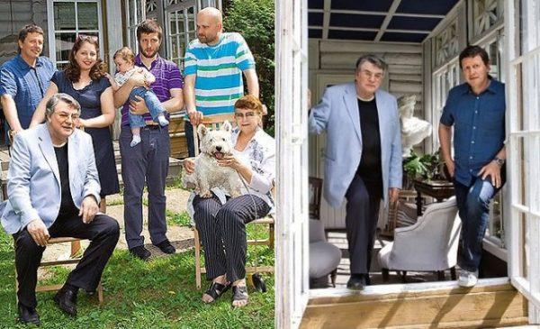 Александр Ширвиндт со своей большой семьей