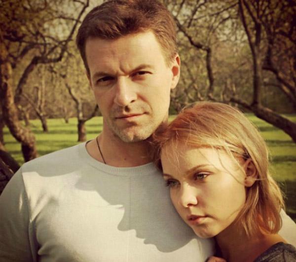Полина Сыркина с мужем Константином Стрельниковым