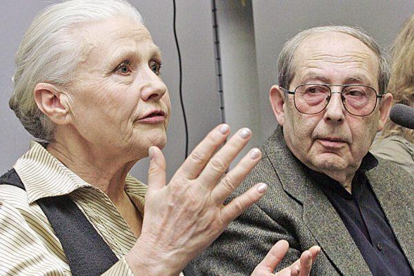 Мария Пахоменко с мужем