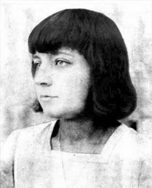 Марина Цветаева в молодости