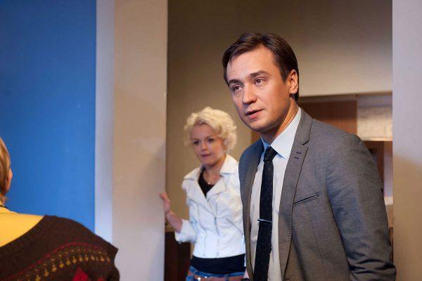 """Кирилл Жандаров в сериале """"Ветреная женщина"""""""