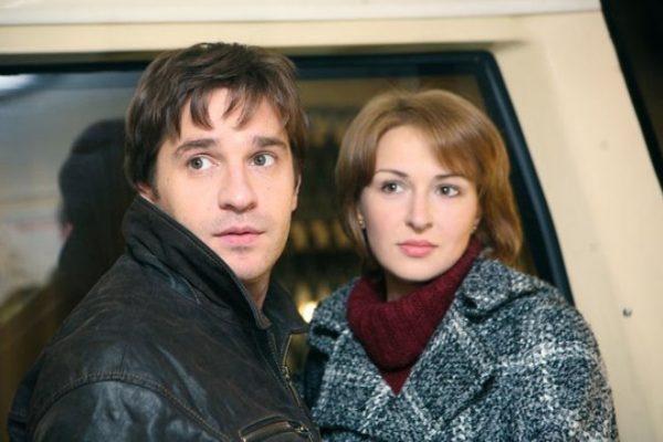 Александр Ратников с женой Анной Тараторкиной