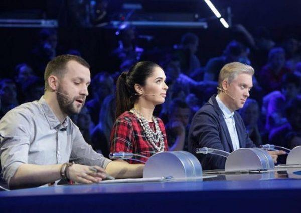 """Юлия Ахмедова в жюри программы """"Открытый микрофон"""""""