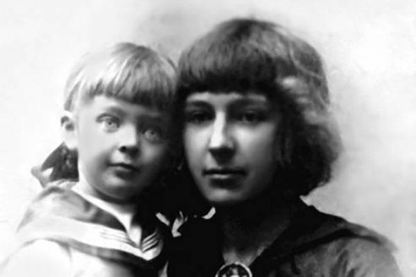 Марина Цветаева со старшей дочерью Ариадной