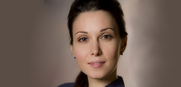 Актриса Александра Урсуляк