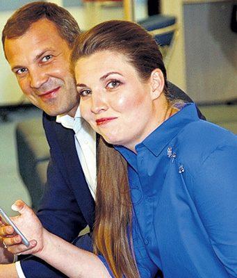 Ольга Скобеева и Евгений Попов: свадьба