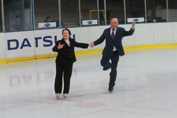 Тамара Москвина и Алексей Мишин открыли школу фигурного катания