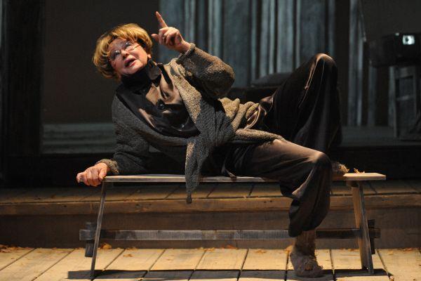 Марина Неелова на сцене театра