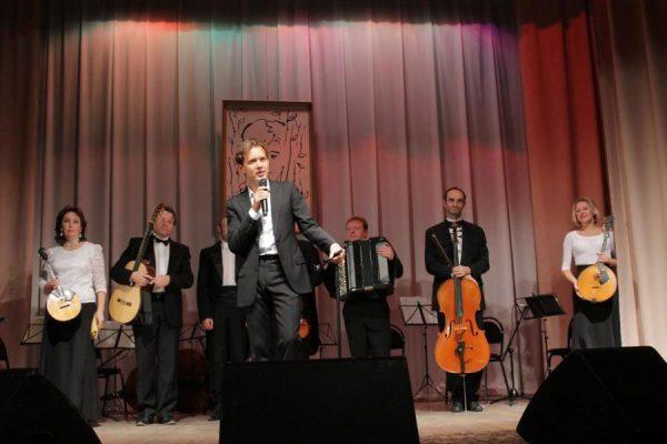 Олег Погудин на концерте