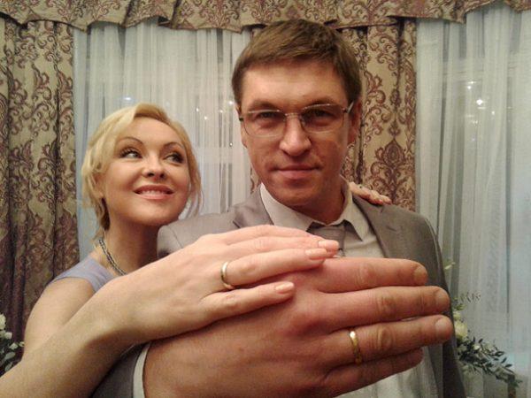 Ксения Энтелис и актер Дмитрий Орлов