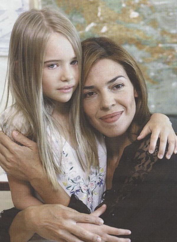 Актриса Анастасия Цилимпоу в детстве