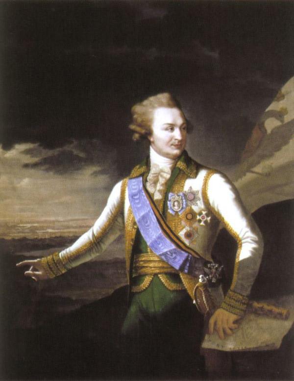 Григорий Потемкин автопортрет