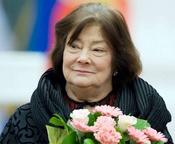 Легендарная актриса Татьяна Самойлова