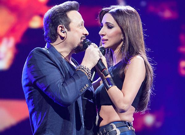 Стас Михайлов и певица Зара